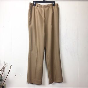 Vintage 90s Pendleton Tan 100% Wool Trousers